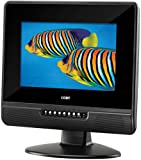 Coby TFTV1022 10.2-Inch Widescreen TFT LCD Digital TV/Monitor (Black)