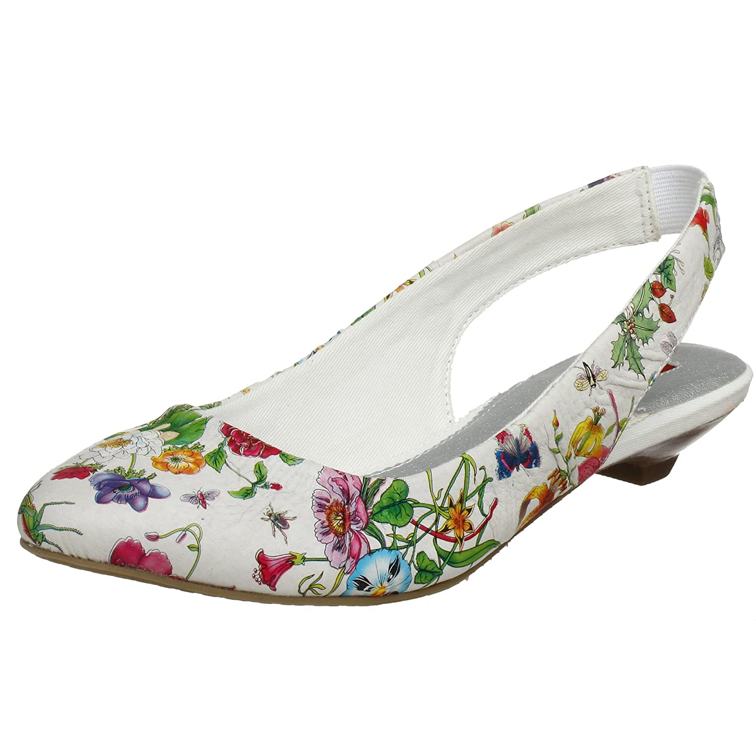 BC Footwear Women's Bowl Cut Flat - Free Overnight Shipping & Return Shipping: Endless.com :  floral flowers flats shoes