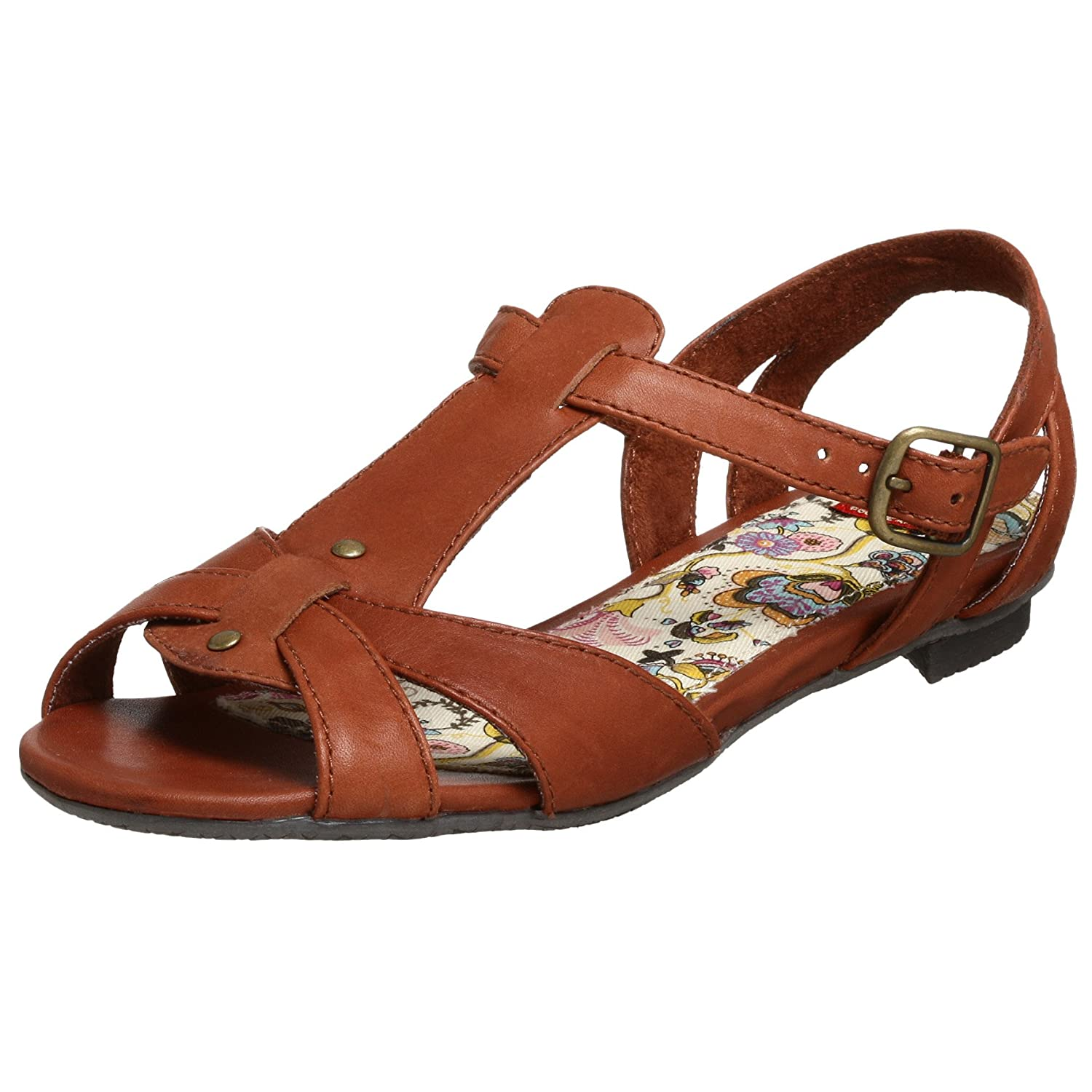 BC Footwear Women's Tsunami Sandal - Free Overnight Shipping & Return Shipping: Endless.com :  t-strap bc footwear buckle retro