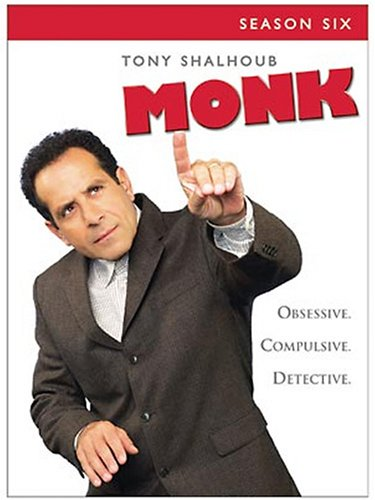 Monk - Season Six DVD