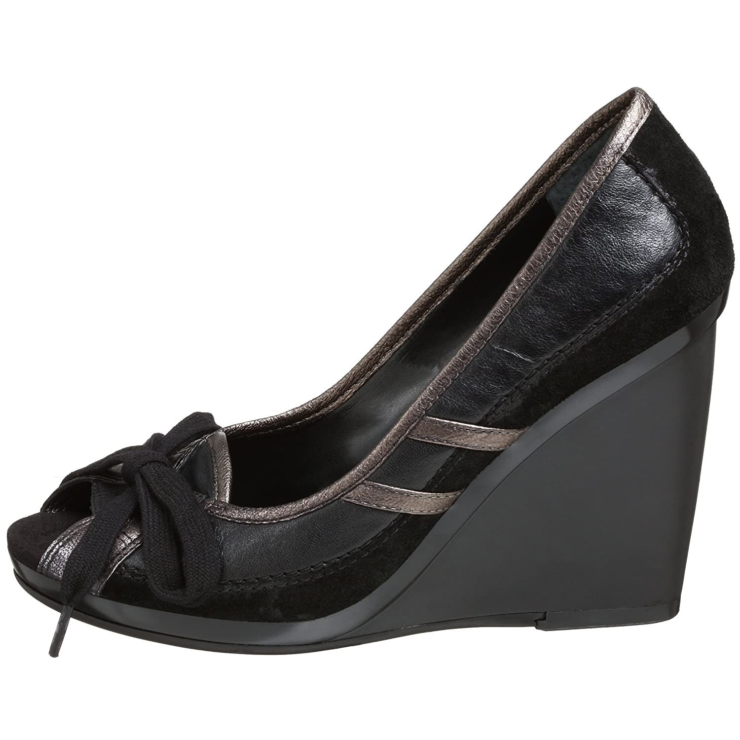 Warshay Peep Toe Platform Wedge  :  pumps sporty shoes open toe