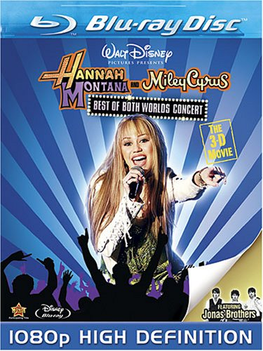 Best of Both Worlds Concert: The 3-D Movie [Blu-ray] DVD