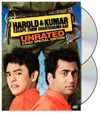 Harold and Kumar Escape from Guantanamo Bay  DVD