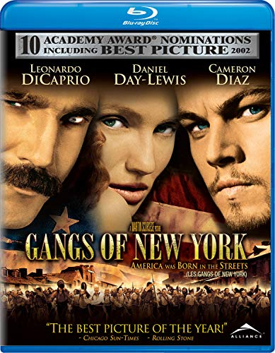 Gangs of New York [Blu-ray] DVD