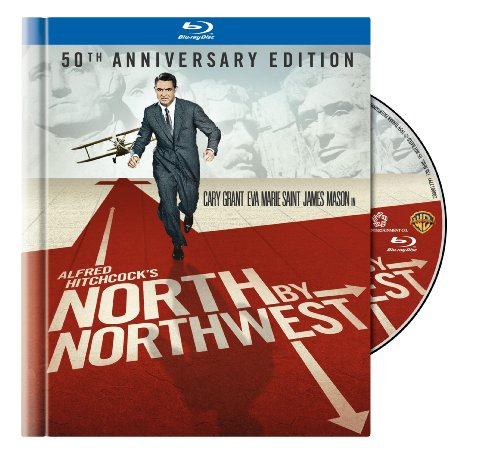North by Northwest 50th Anniversary Edition in Blu-ray Book Packaging