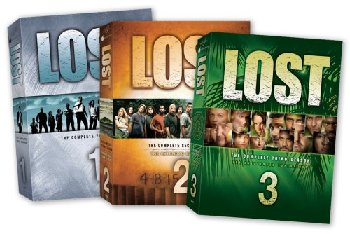 Lost - The Complete Seasons 1-3 DVD