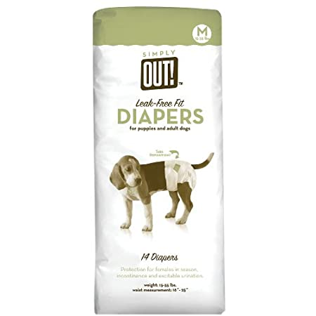 Simply Out Pet Diapers 14pk