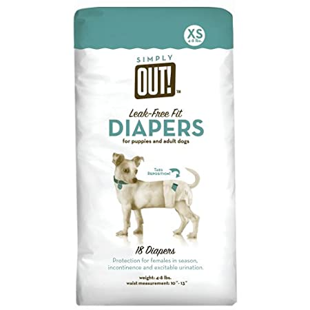 Simply Out! Pet Diapers 18-pk. – Xs
