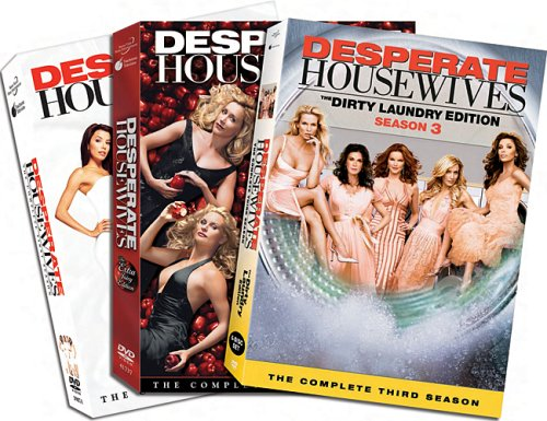 Desperate Housewives - Seasons 1-3 DVD