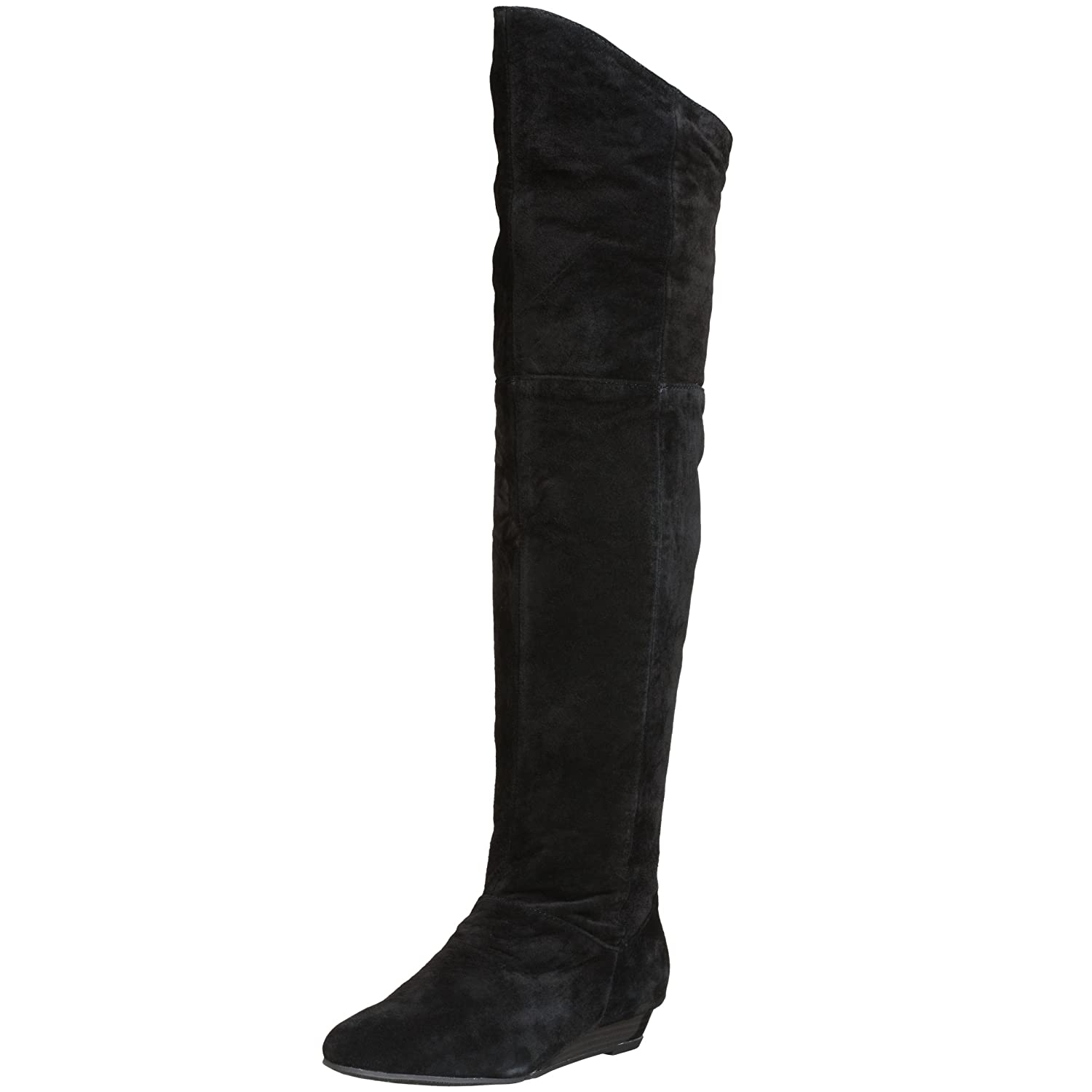 Chinese Laundry Women's Turbo Suede Wedge Boot - Free Overnight Shipping & Return Shipping: Endless.com :  flat boots black suede boots suede boots endless