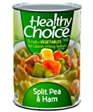 Healthy Choice Split Pea & Ham Soup, 15-Ounce Cans (Pack of 12)