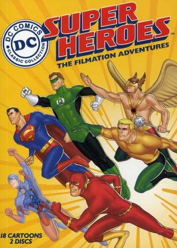 DC Super Heroes: The Filmation Adventures cover
