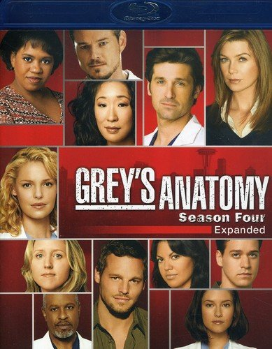 Grey's Anatomy: Season 4 [Blu-ray] DVD