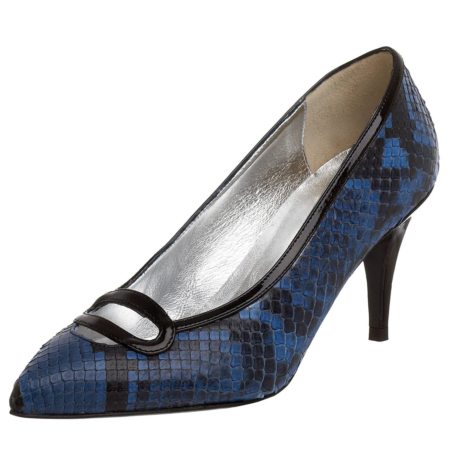 Claudia Ciuti Emilia Pump: Categories - Free Overnight Shipping & Return Shipping :  blue black pump heel