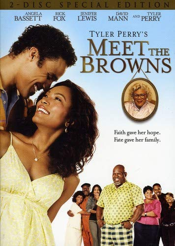 Tyler Perry's Meet The Browns  DVD