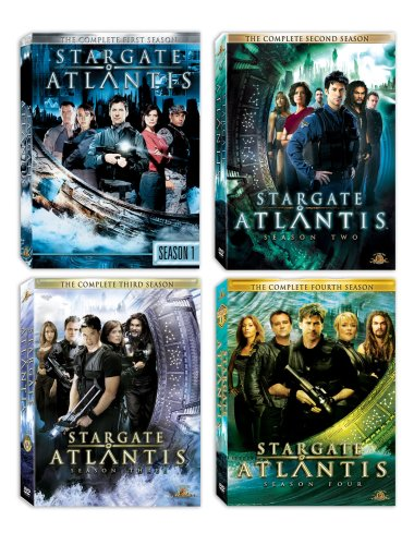 Stargate Atlantis Seasons 1-4 DVD