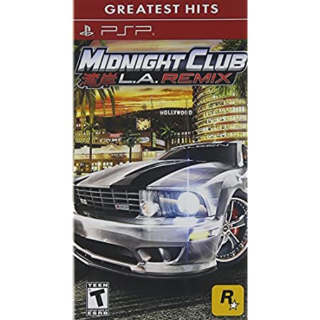 Midnight Club: La Remix (playstation Portable)