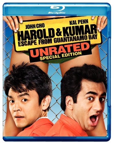 Harold and Kumar Escape from Guantanamo Bay [Blu-ray] DVD