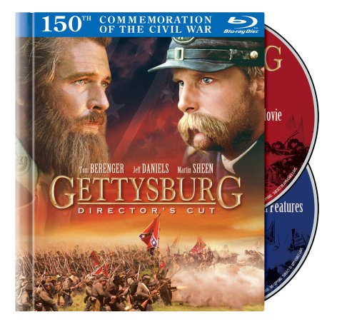 Gettysburg: Director's Cut Blu-ray Book Packaging