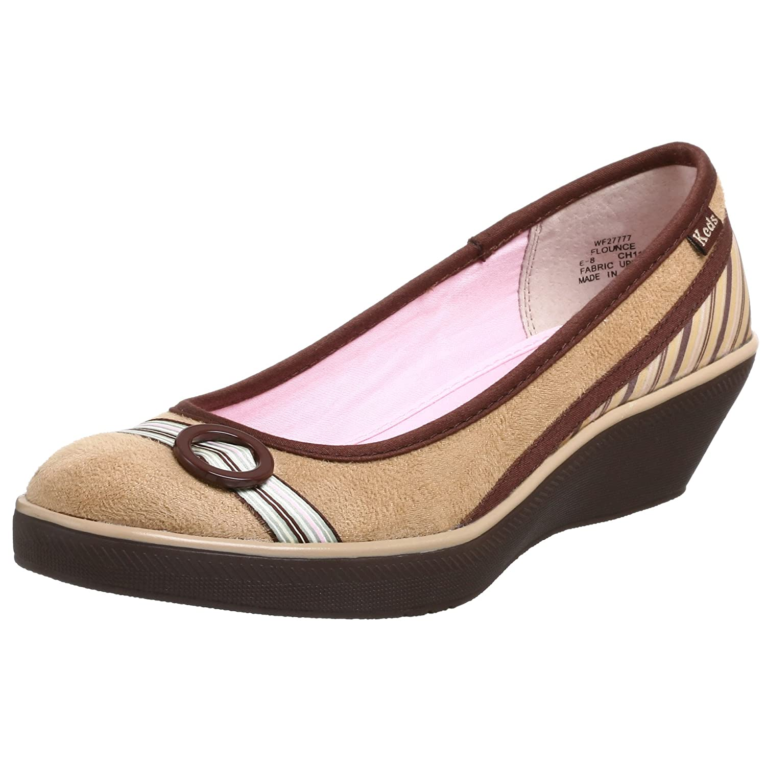 Keds Women's Flounce Wedge - Free Overnight Shipping & Return Shipping: Endless.com