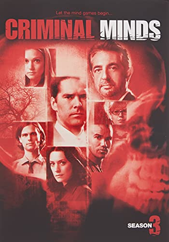 Criminal Minds: The Complete Third Season DVD
