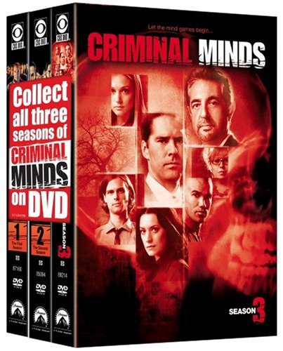 Criminal Minds - Seasons 1-3 DVD