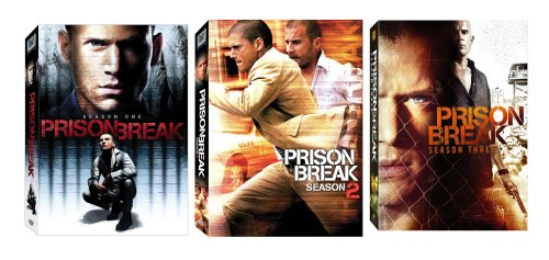 Prison Break - Seasons 1-3 DVD
