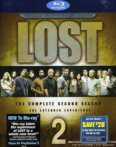 Lost: The Complete Second Season [Blu-ray] DVD