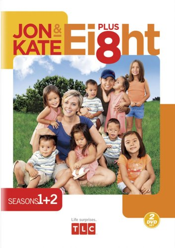 Jon & Kate Plus Ei8ht, Seasons 1 - 2 DVD