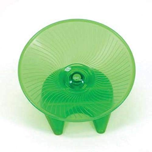 Ware Flying Saucer Small Pet Exercise Wheel, 7-1/4-Inch, Medium, Colors may vary