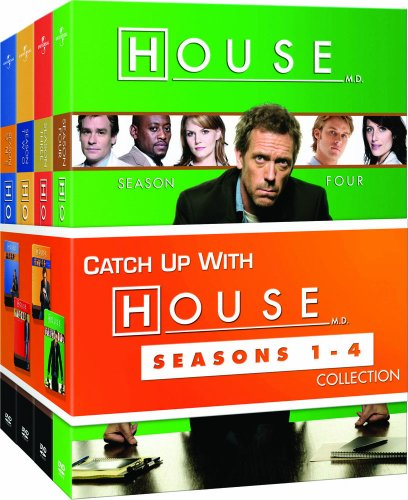 House: Season 1 - 4 Collection DVD