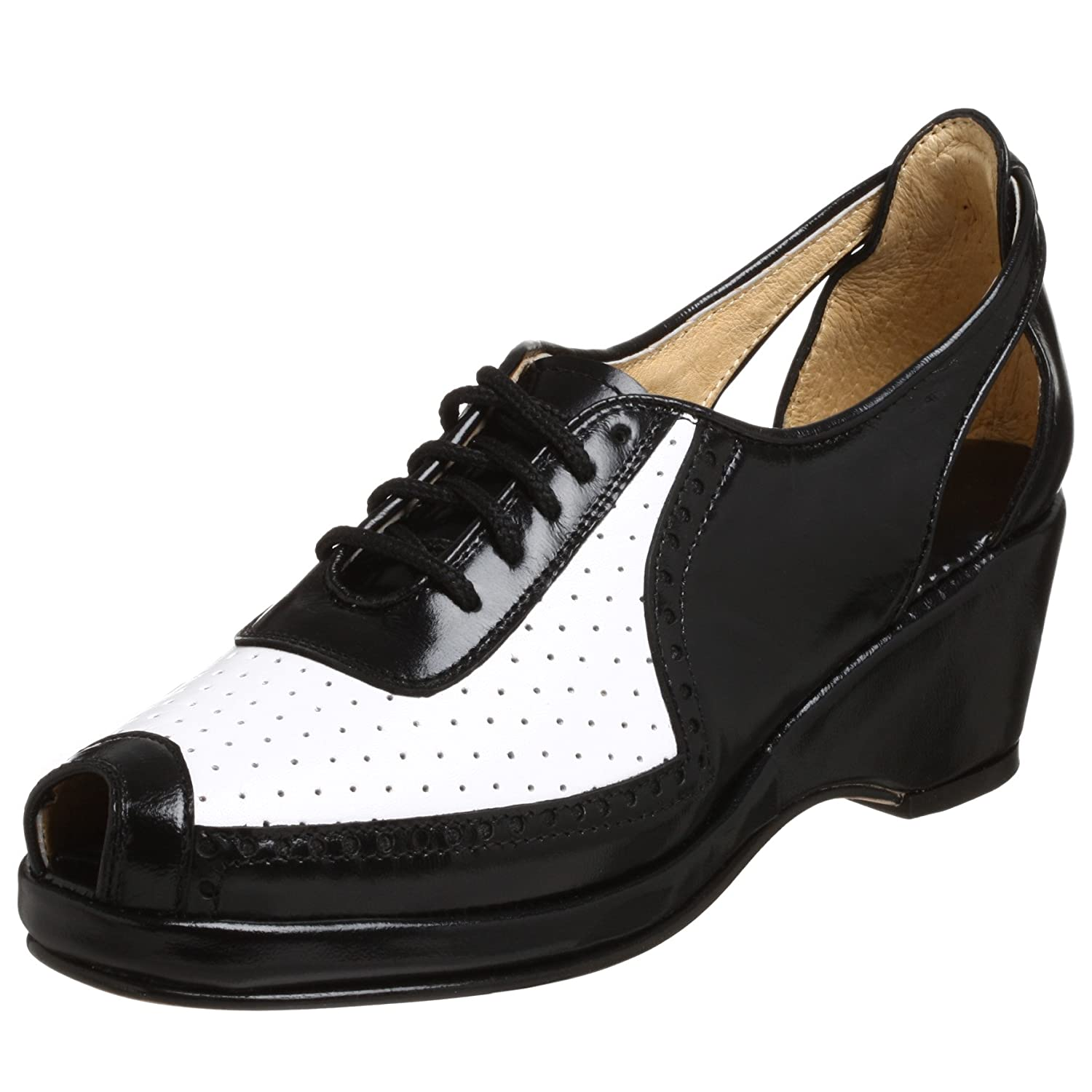 Re-Mix Vintage Women&#039;s Spectator Pump - Free Overnight Shipping &amp; Return Shipping: Endless.com from endless.com