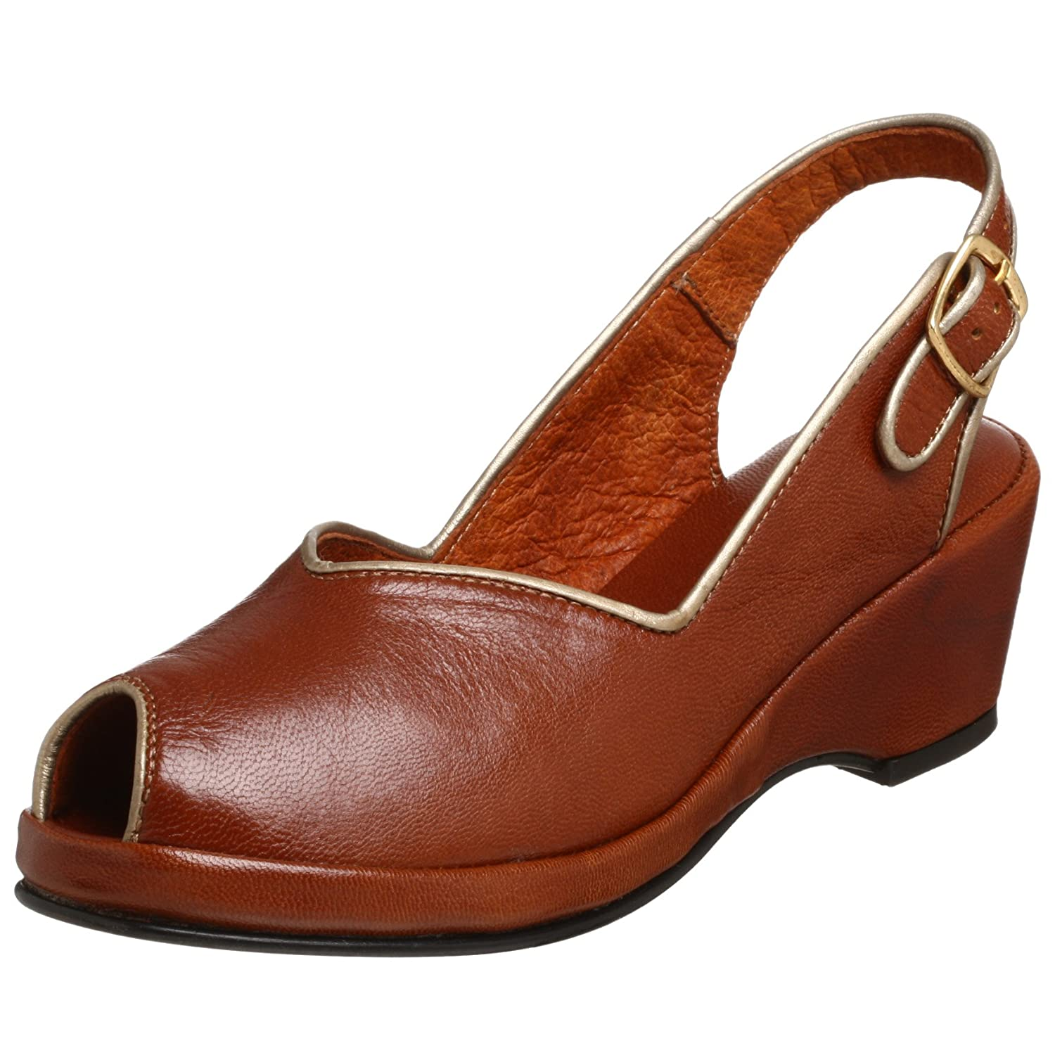 Re-Mix Vintage Women's Gloria Peep Toe  Slingback - Free Overnight Shipping & Return Shipping: Endless.com from endless.com