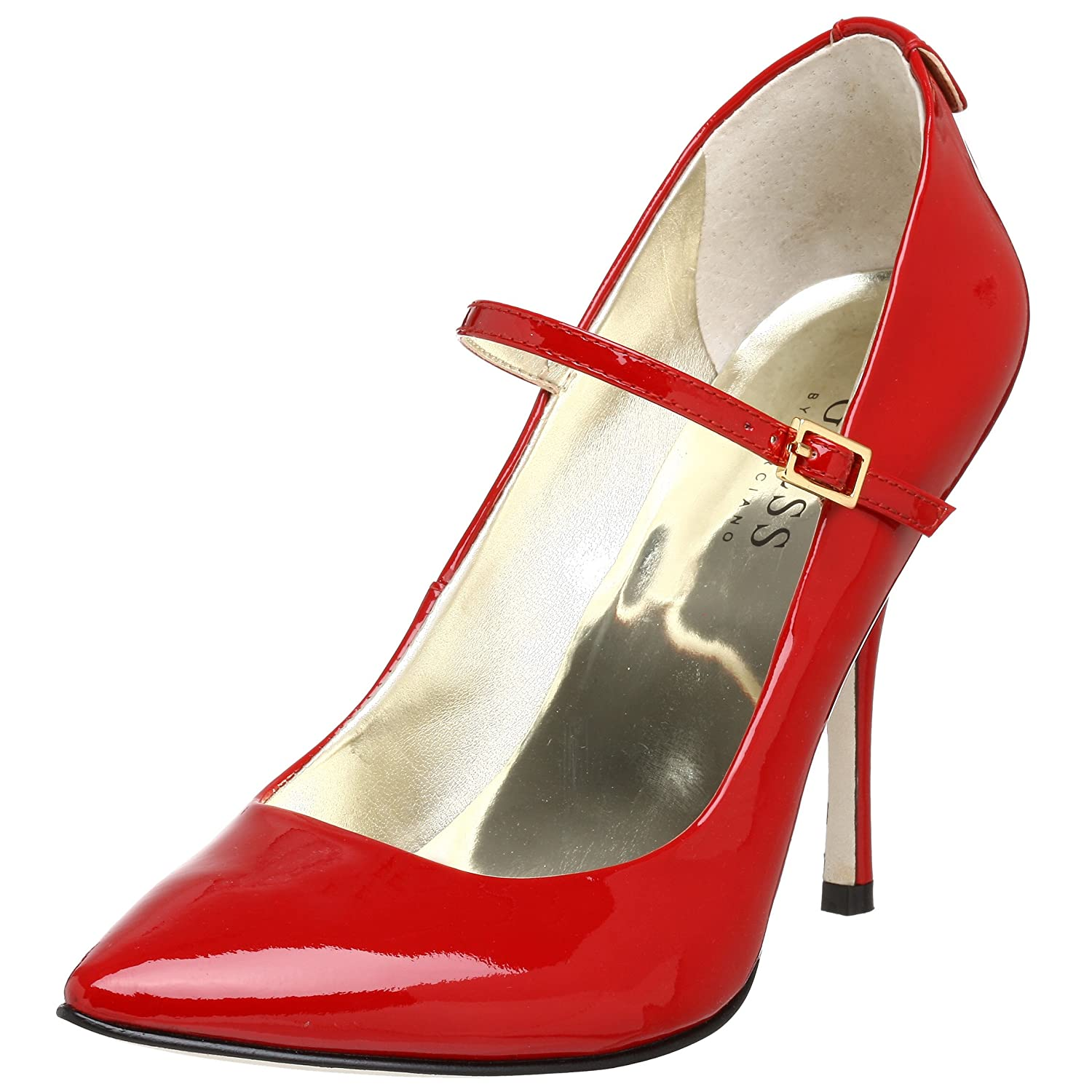 GUESS Women's Heda Mary Jane Pump - Free Overnight Shipping & Return Shipping: Endless.com :  heel