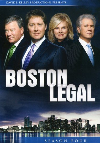 Boston Legal: Season 4 DVD