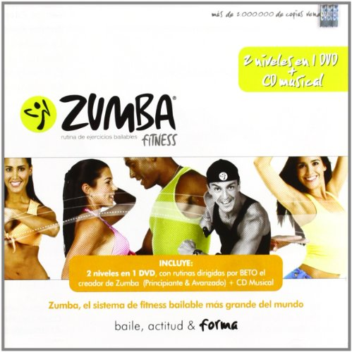 The All New Zumba Fitness: Latin Workout Routine, 1 Set 4 Volume  1-Beginners, 2-Advanced, 3-Power, 4-Abs, Buns and Thighs