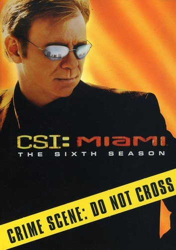 C.S.I. Miami - The Sixth Season DVD