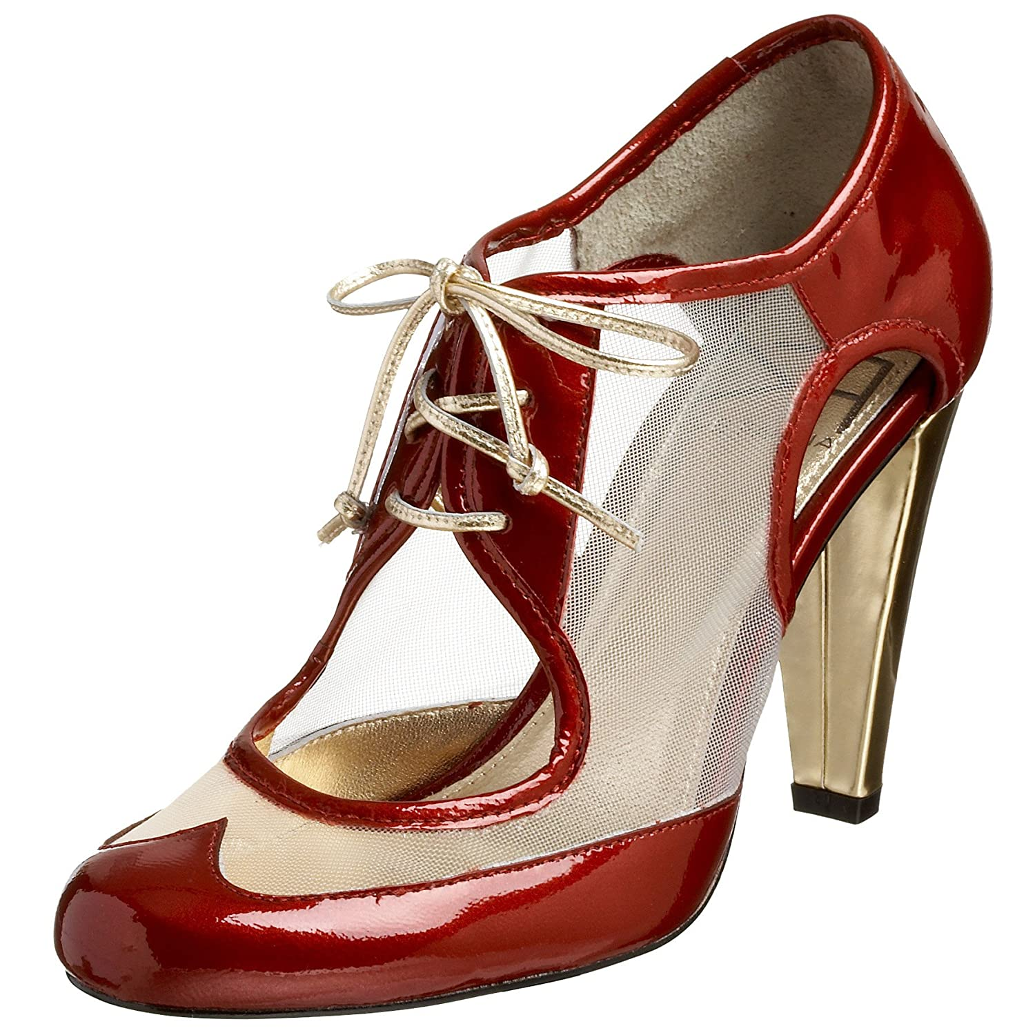 Due Farina Women's Spec-Tacular Pump - Free Overnight Shipping & Return Shipping: Endless.com :  farina retro heels lace up