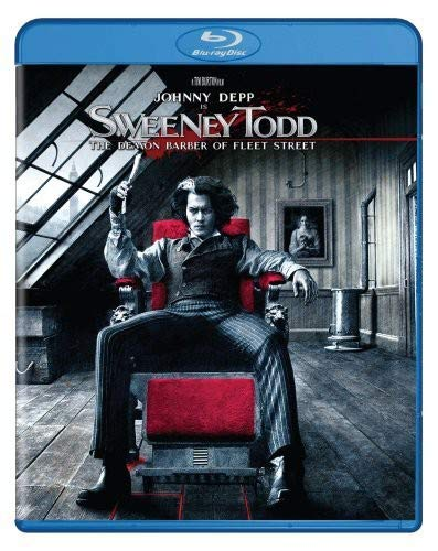 Sweeney Todd [Blu-ray] DVD
