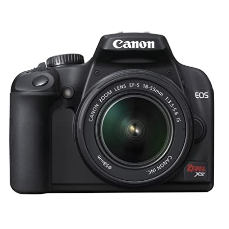 Canon Eos Rebel Xs 10.1mp Digital Slr Camera With 18-55is Lens