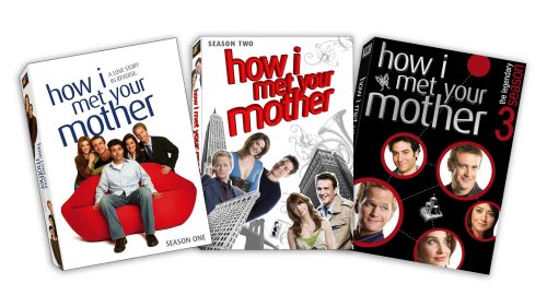 How I Met Your Mother - Seasons 1-3 DVD