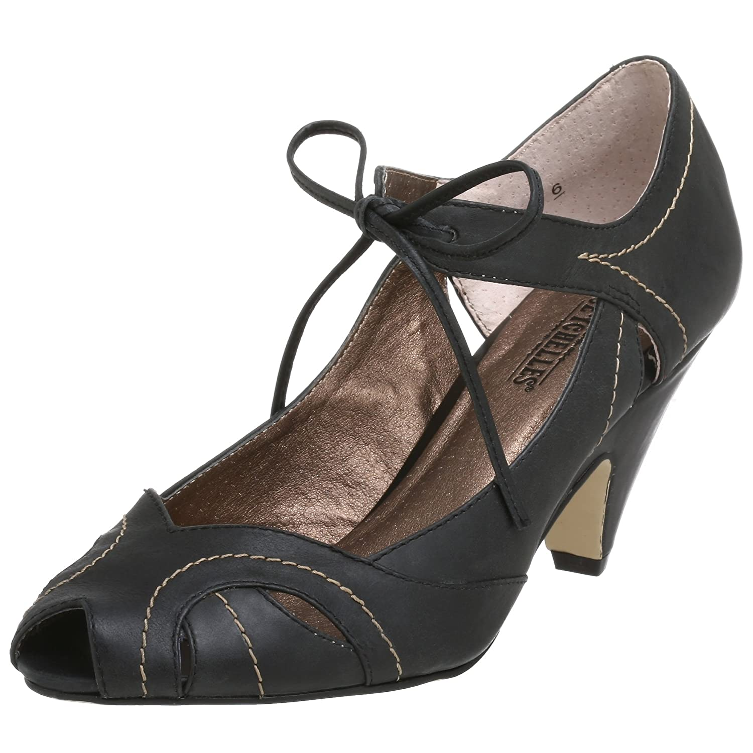 Seychelles Leading Lady Peep Toe Pump - Free Overnight Shipping & Return Shipping: Endless.com :  pumps retro heels ankle strap