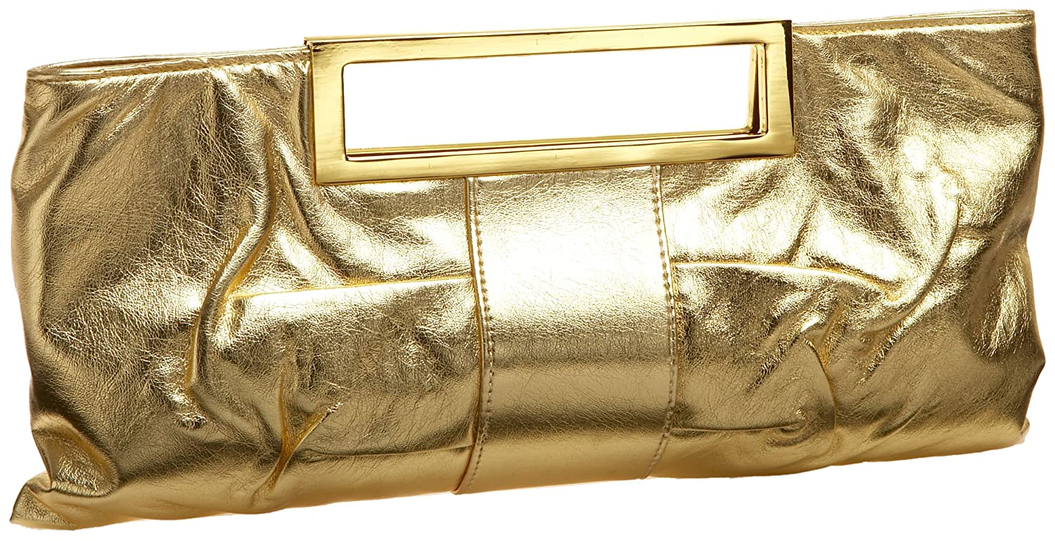 Prezzo Cut-Out Metal Handle Clutch from endless.com