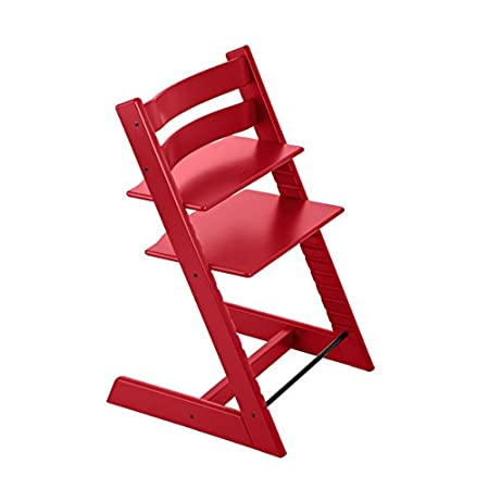 Tripp Trapp From Stokke Highchair Red For Baby