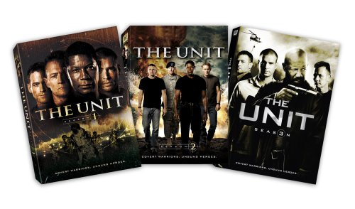 The Unit - Seasons 1-3 DVD