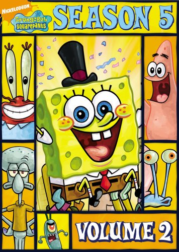 SpongeBob SquarePants: Season Five, Vol. 2 DVD