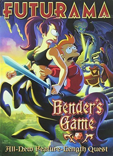Futurama: Benders Game cover