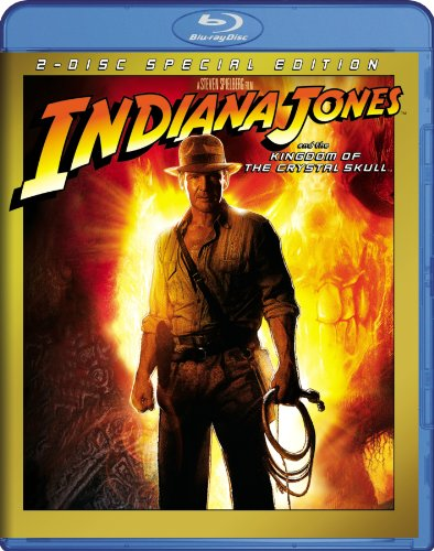 Indiana Jones and the Kingdom of the Crystal Skull [Blu-ray] DVD