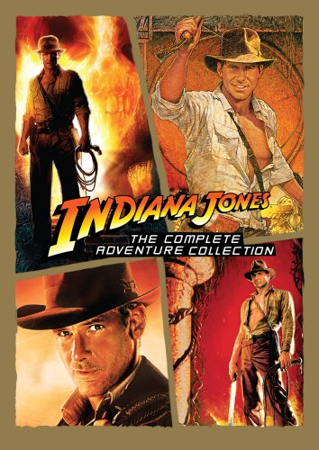 Indiana Jones: The Complete Adventure Collection Raiders of the Lost Ark / Temple of Doom / Last Crusade / Kingdom of the Crystal Skull