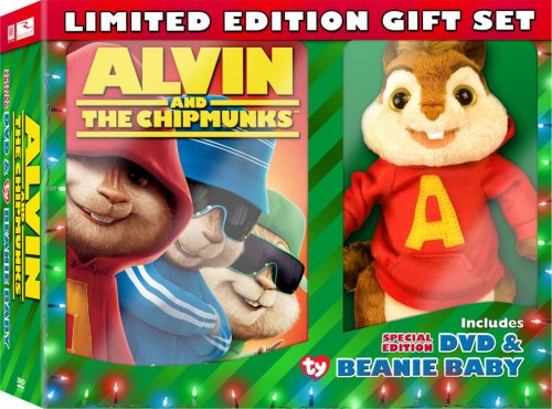 Alvin and the Chipmunks [Limited Edition Plush Giftset] DVD